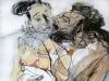 Herakles und Omphale 4   100x70-cm