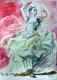 Flamenca traditionell - A4 - Buntstift
