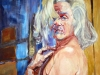 Selbst in Marilynpose 140x100-cm